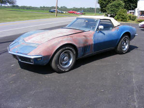 Corvette Stingray Years Production on 1968 Corvette Statistics 1968 Corvette Sting Ray Serial Numbers Are